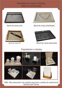 Bandeja de mesa e display